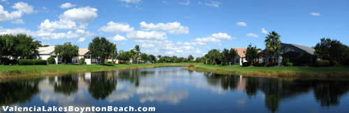 Why wait to have a home with a view like this? Come see what Valencia Lakes has to offer you today.